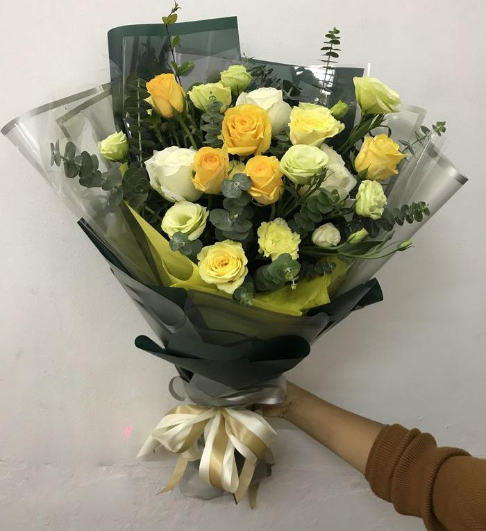 hoa hồng vàng 20-11