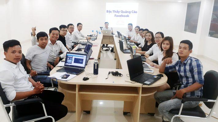 Hình ảnh học viên khóa học Bậc Thầy Quảng Cáo Facebook