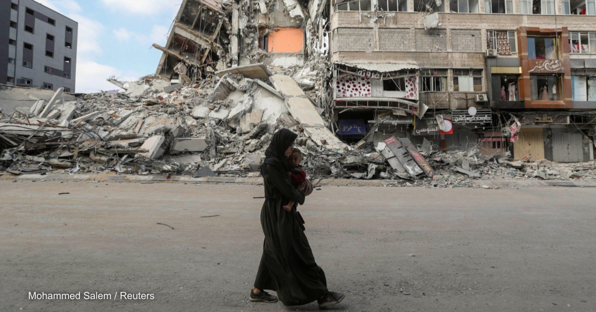 Humanitarian relief in Gaza reaching a 'critical point,' UN rep says