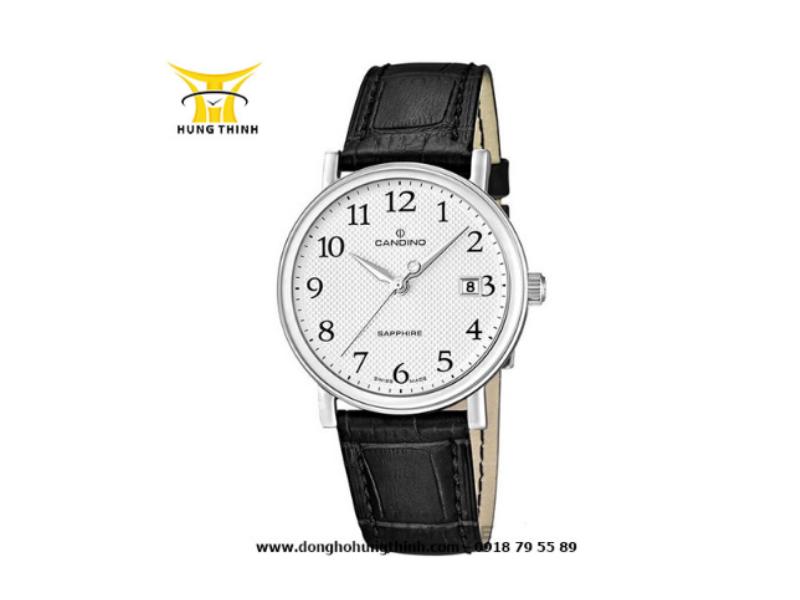 Chiếc đồng hồ Candino nam dây da bao gồm lịch ngày này chỉ có giá hơn 4 triệ