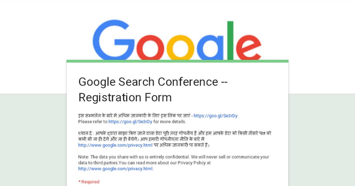 how to make a registration form in google docs