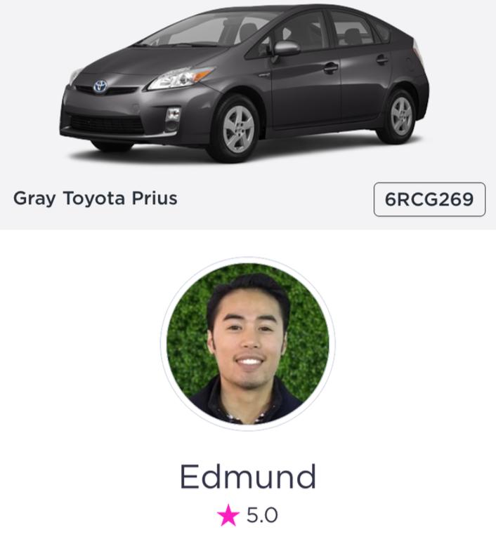 Lyft profile