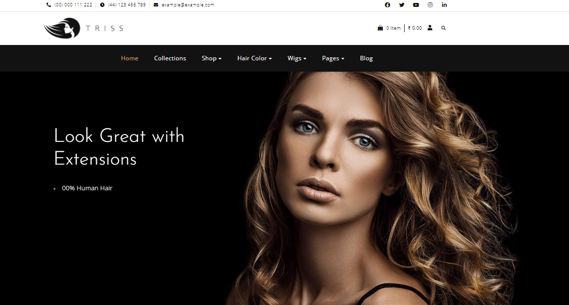 Triss - Cosmetic Woocommerce theme