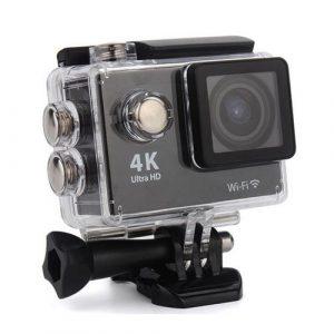 2. กล้อง Action Cam กันน้ำ 4K (WiFi) กล้องติดหมวก ราคา 1,750 บาท