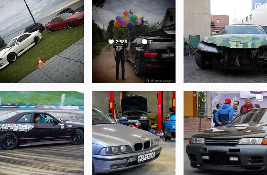 Продвижение бизнеса в Instagram. 8 главных ошибок. Машины