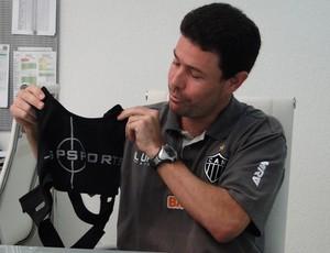 Roberto Chiari fisiologista do Atlético-MG  especial (Foto: Leonardo Simonini)