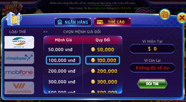 Giải trí đỉnh cao cùng game danh bai doi the cao