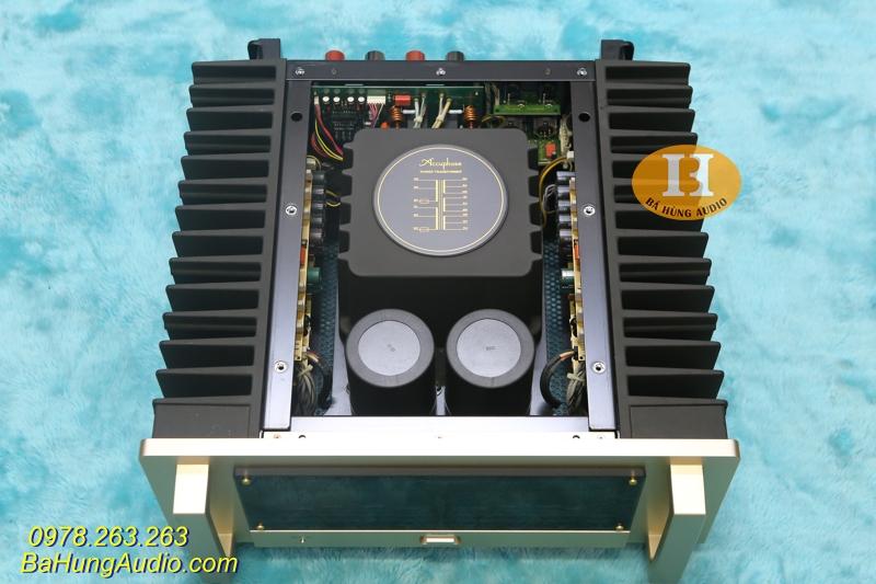 Thiết kế ấn tượng của thiết bị khuếch đại âm thanh cao cấp