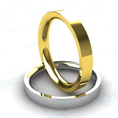 Diamantísimo: sus alianzas de boda