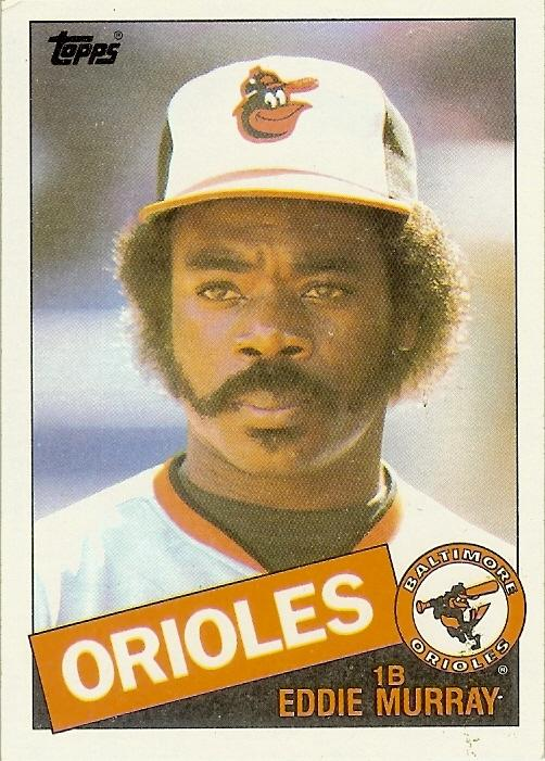 The Ten Greatest Eddie Murray Baseball Cards Camden Chat