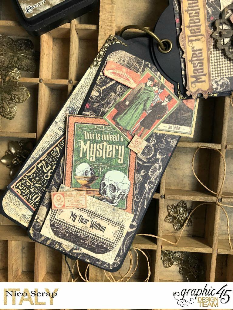 album of curiosities, master detective, photo 4, by Nico Scrap, Product by Graphic 45..jpg