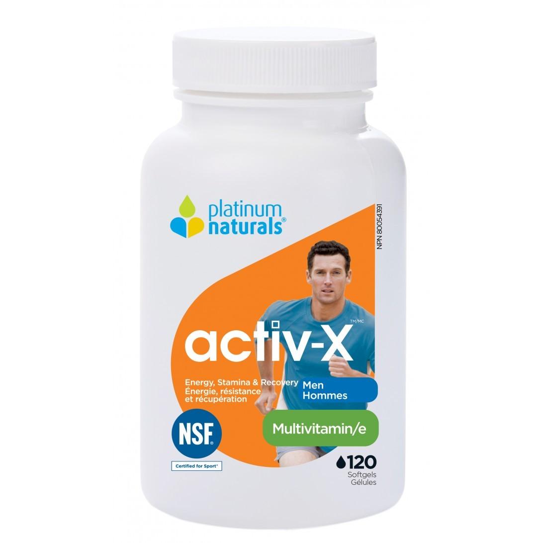 Platinum Naturals Activ X Multivitamin