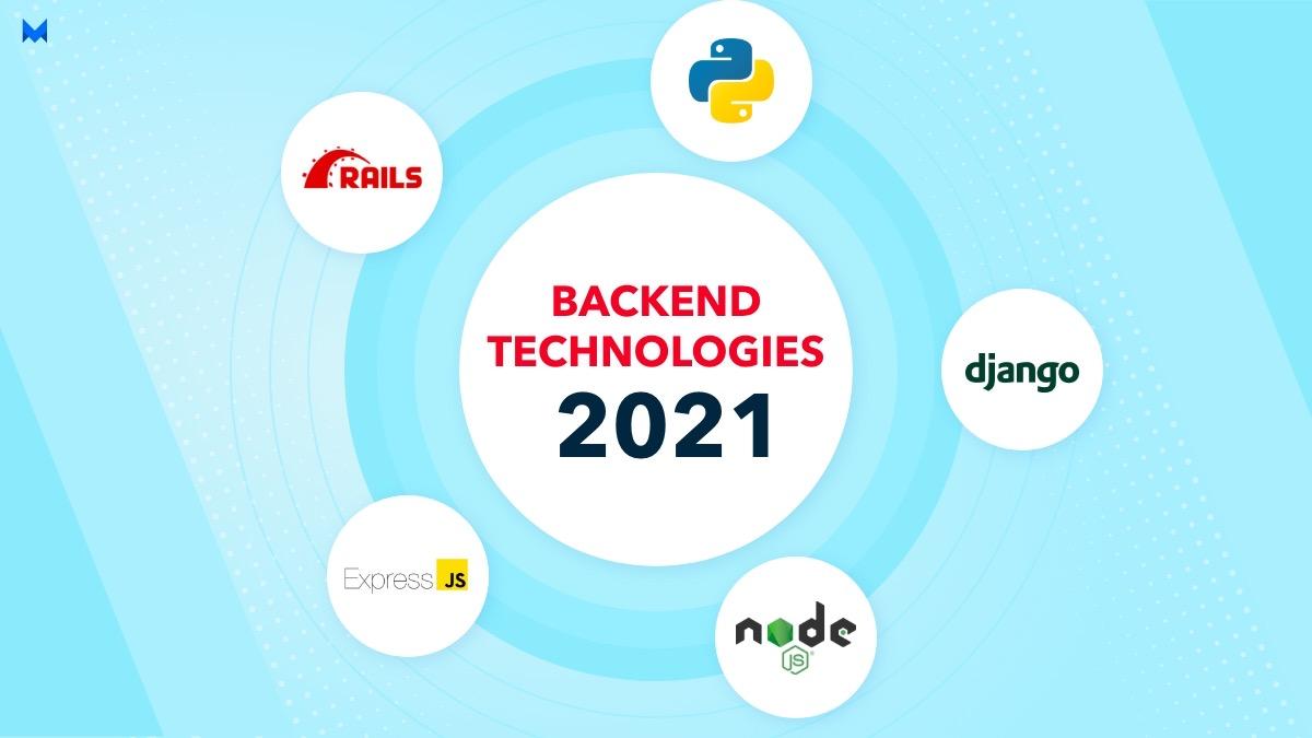 Best 5 Backend Technologies