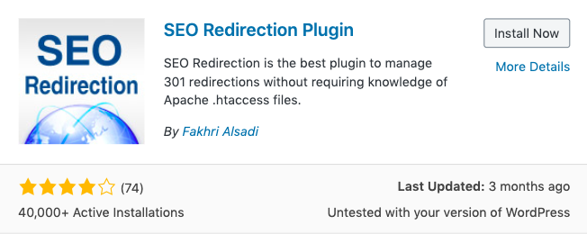 SEO Redirection Plugin on WordPress 301,302,404的差異及對SEO的影響