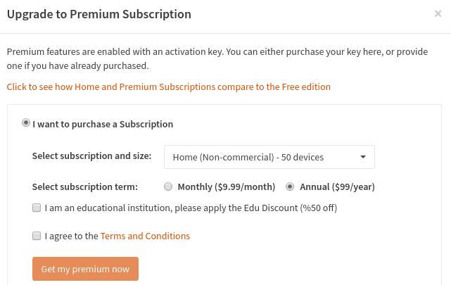 get a Premium Subscription