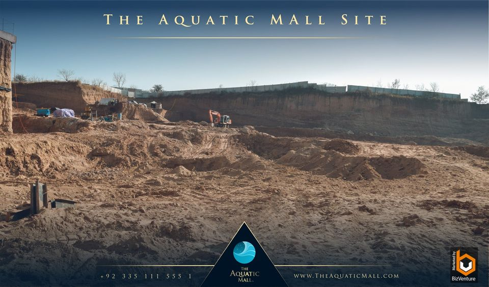 The Aquatic Mall Construction