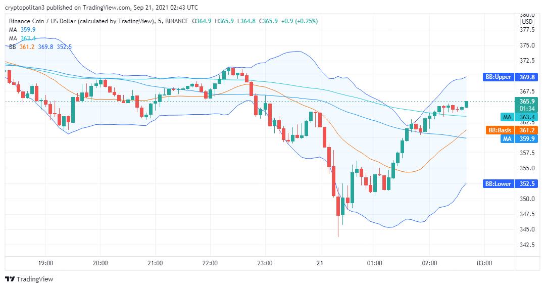 Binance Coin price analysis: BNB/USD bearish set to reverse in the next 24 hours 2