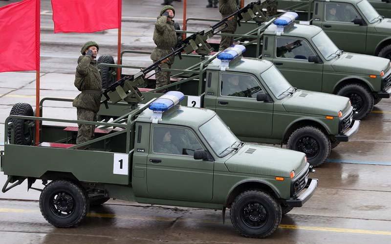 Спеціальна версія Lada 4X4 («Нива») для російської армії
