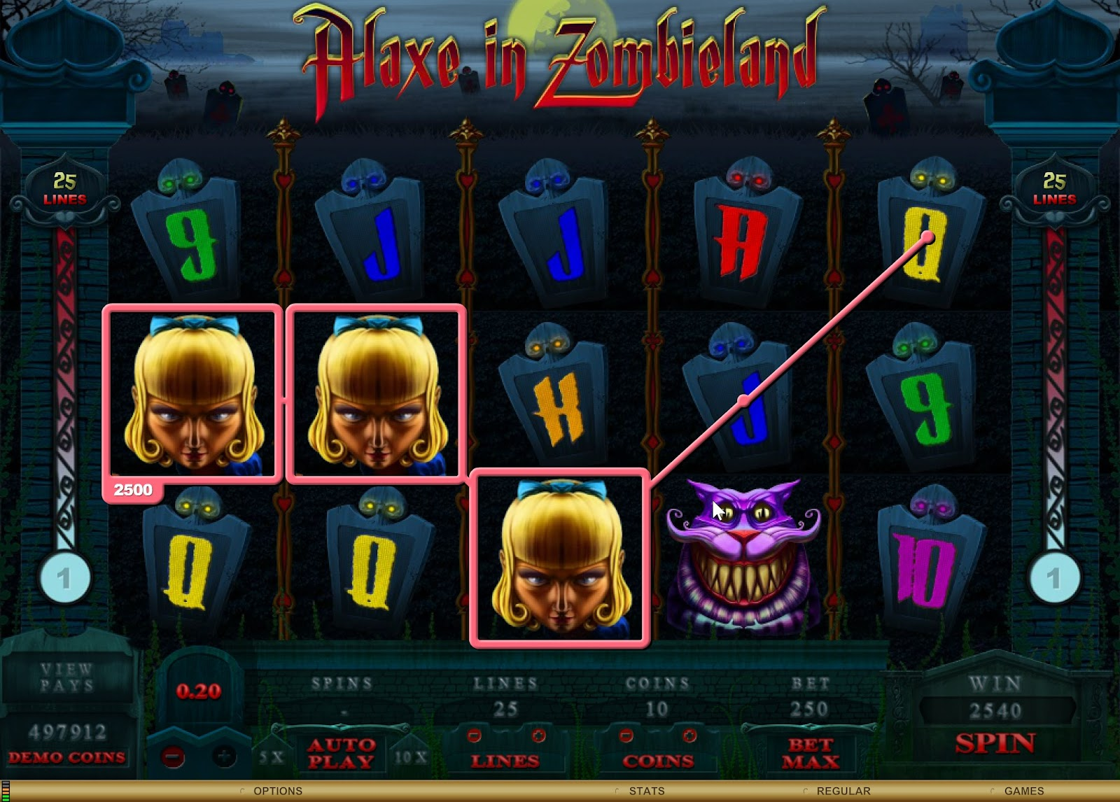 Alaxe in Zombieland Slots Game Review - GAMINGSAFE