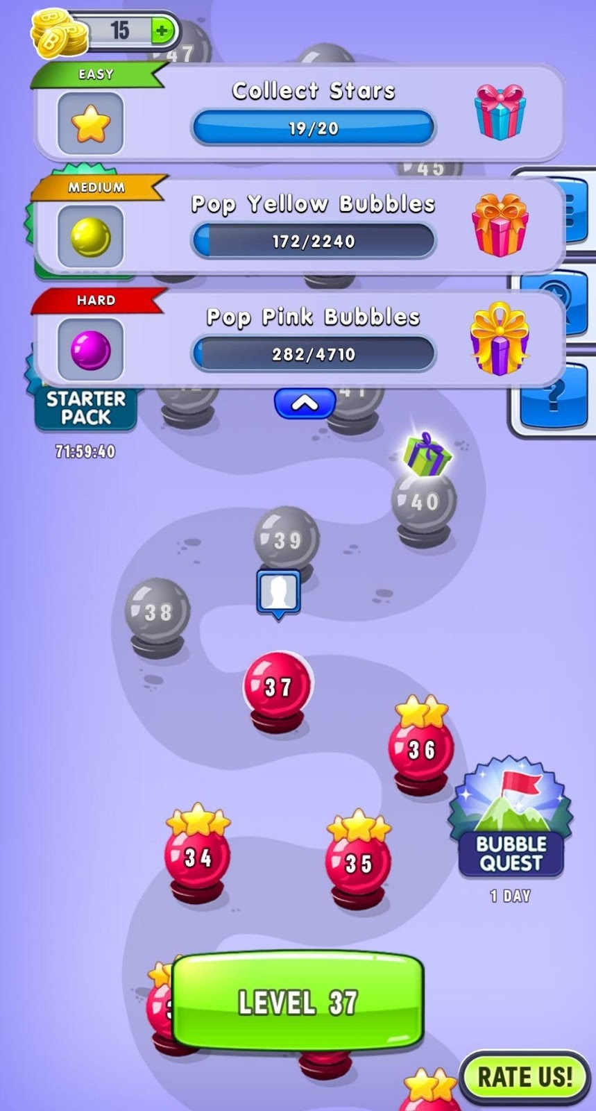 Bubble Shooter Level