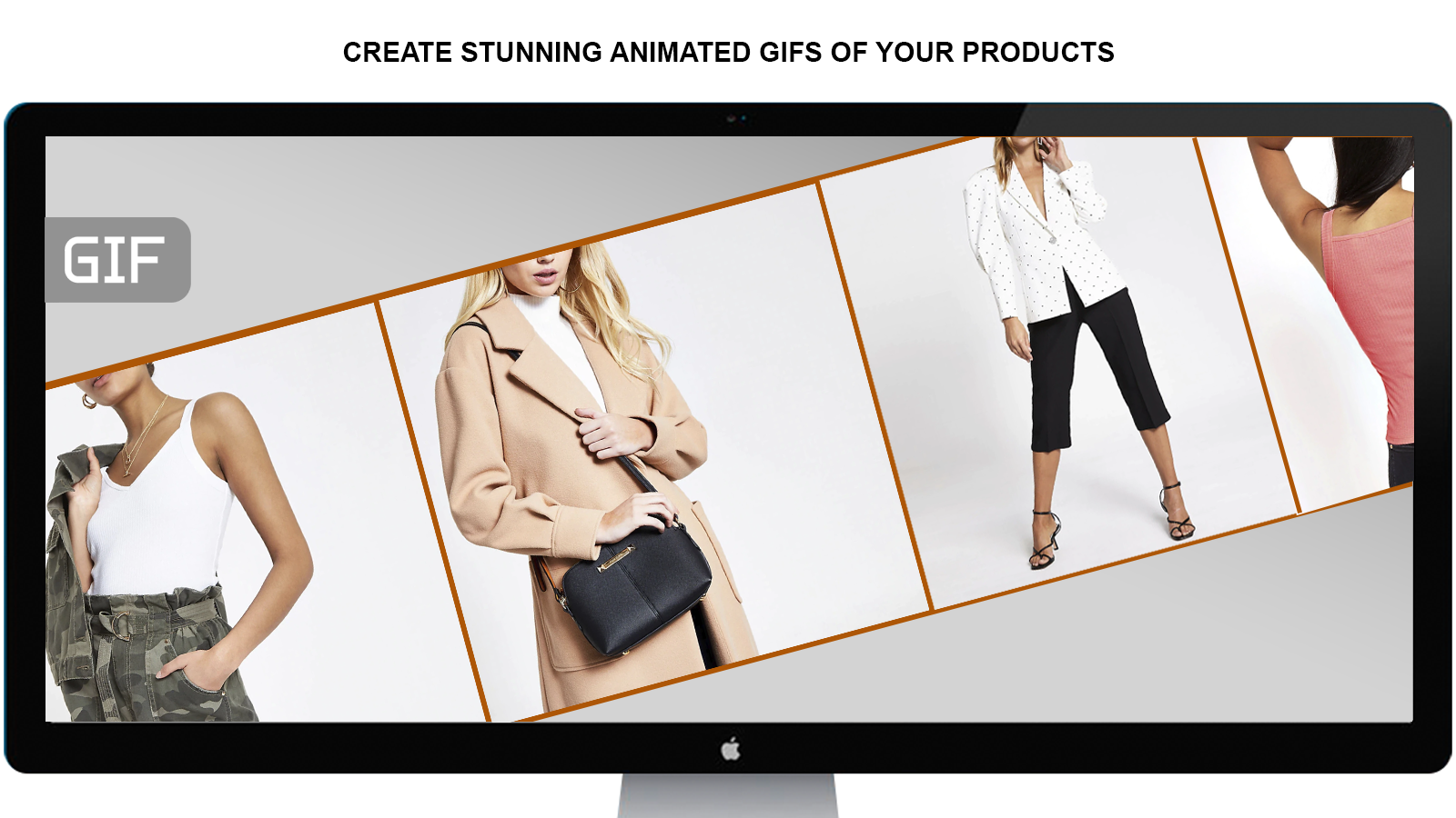 Create animated GIFs of your products