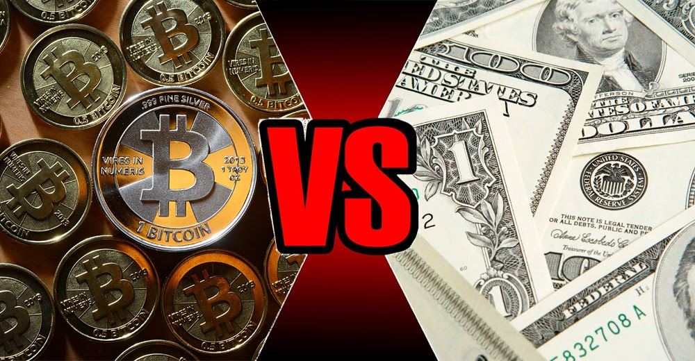 cryptocurrency vs fiat currency