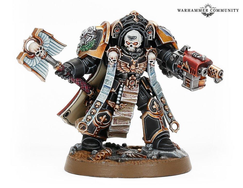 Terminator Chaplain in Warhammer 40K