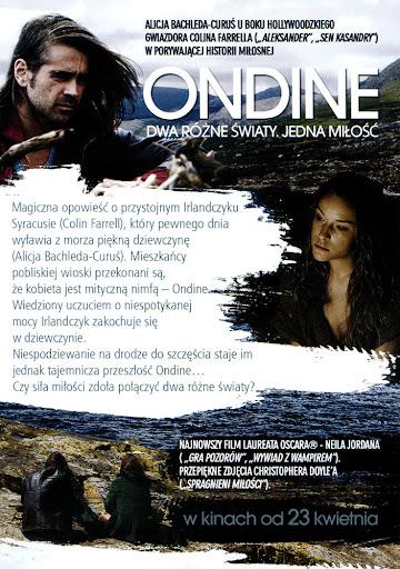 Tył ulotki filmu 'Ondine'