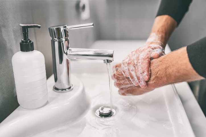 Triclosan was a common ingredient in hand soaps before its risks were widely known.