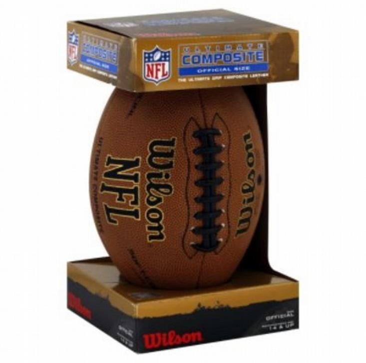 Image result for unboxing a new american football ball in a package?