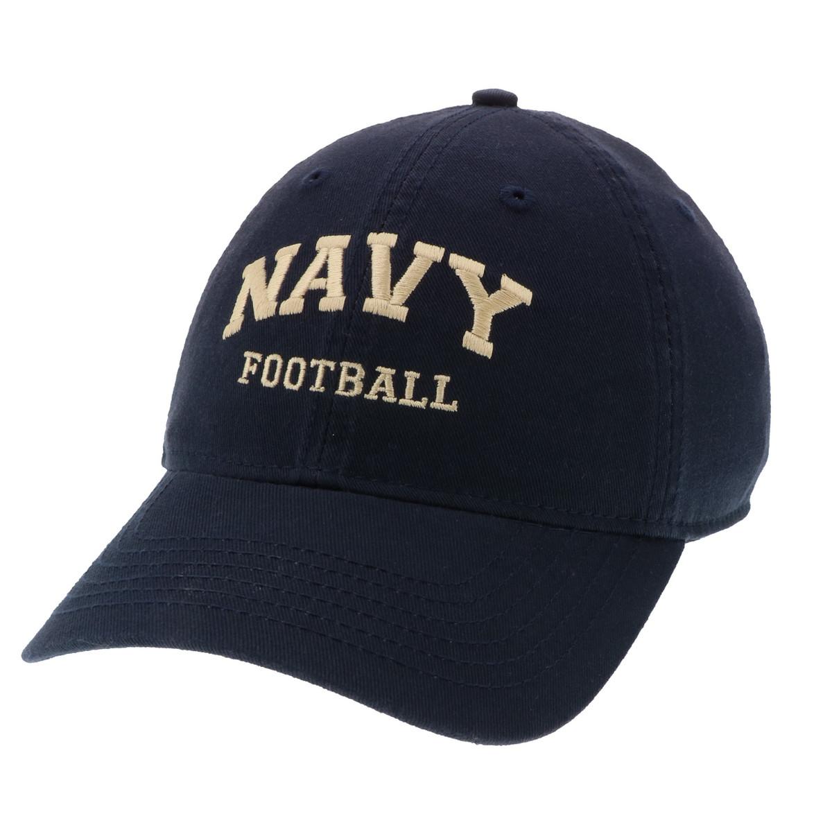 navy football hat