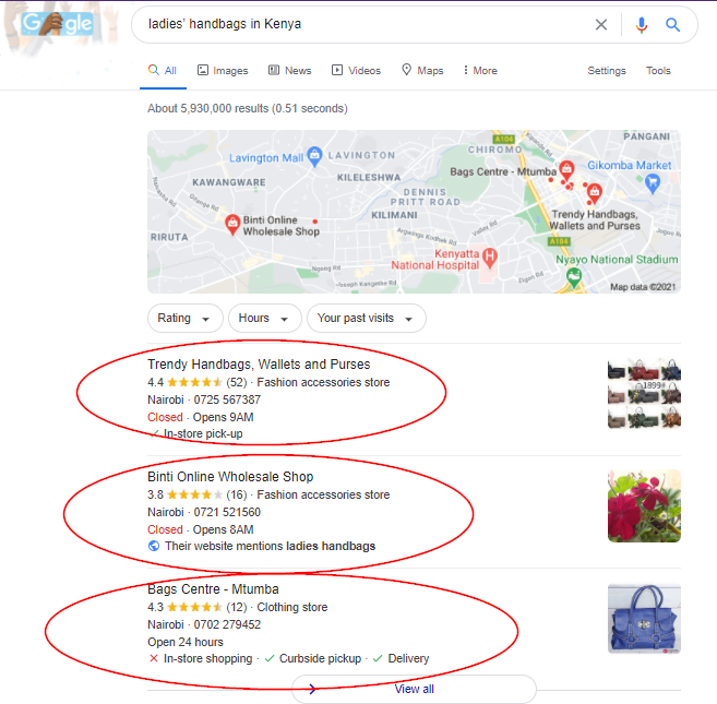 how to market an online shop in Kenya using SEO