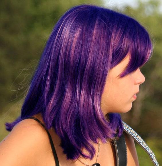 Thay đổi màu tóc bằng Photoshop