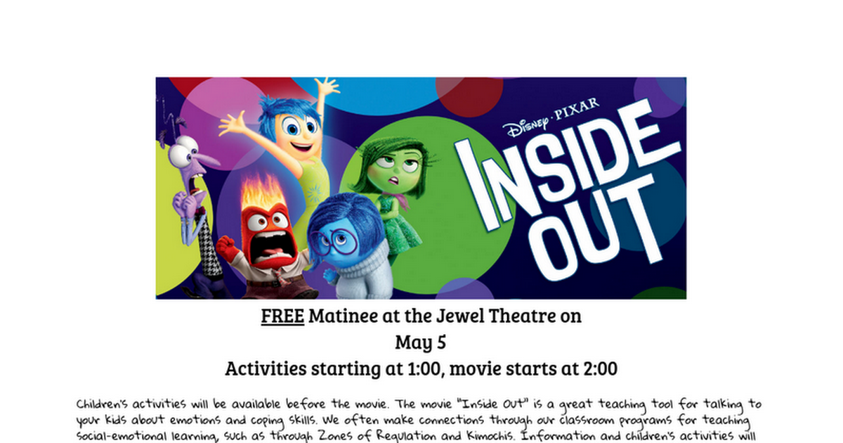 Thumbnail for Inside Out May 5