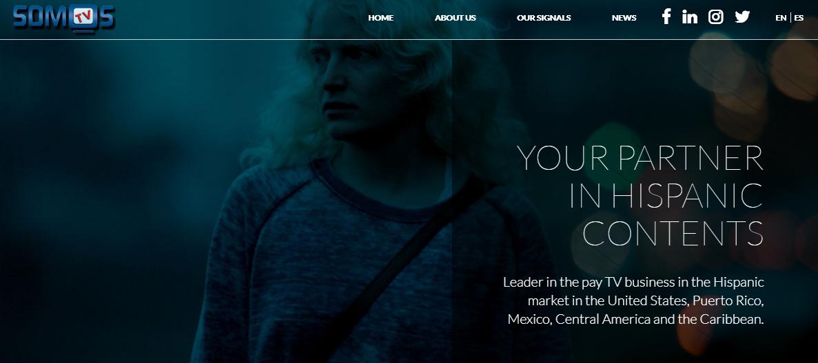 The Somos Films website