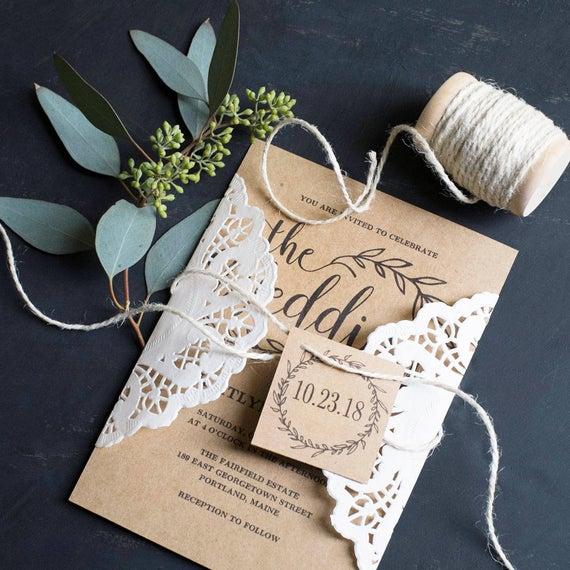 Unique Wedding Invitations Ideas To Wow