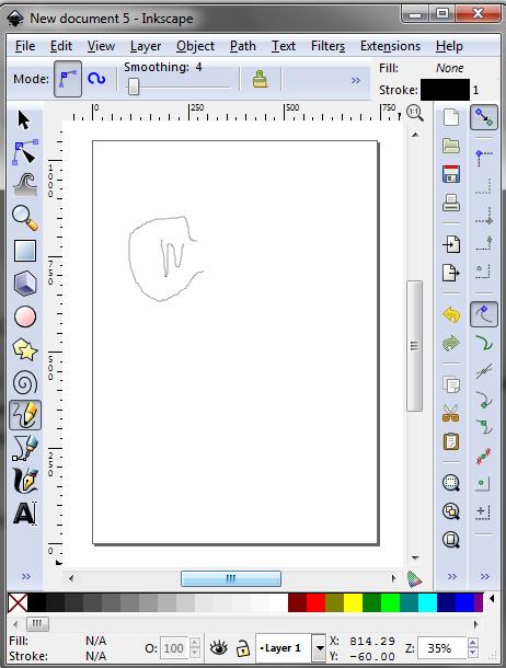 Generating GCode using Inkscape - KeerBot