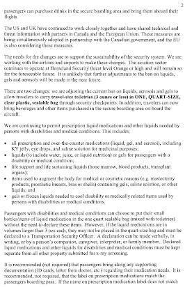 Sai's complaint against SFO TSA agents for violation of disabilities law
