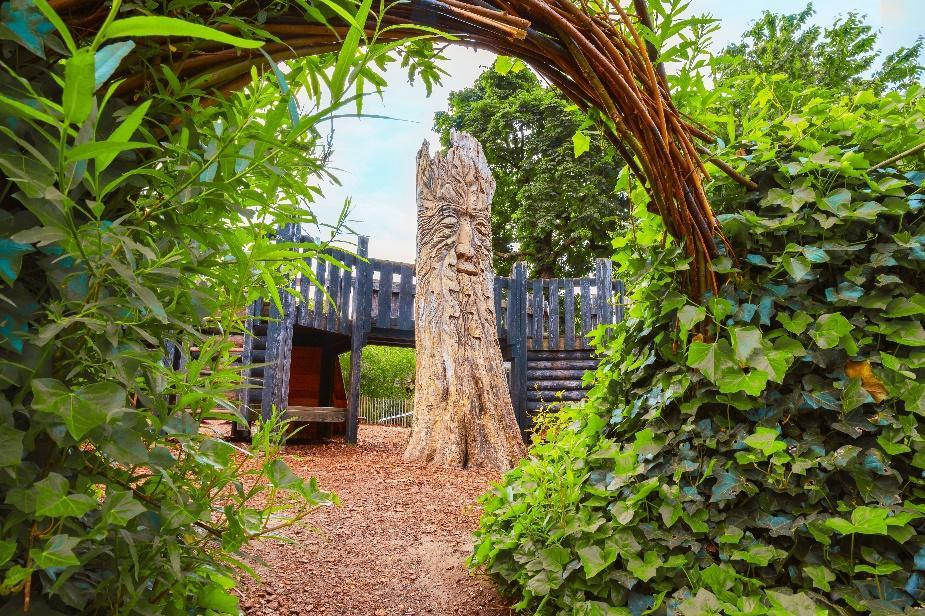 The Diana Playground at Kensington Gardens