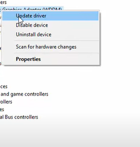 right click on the drive and select the update driver option