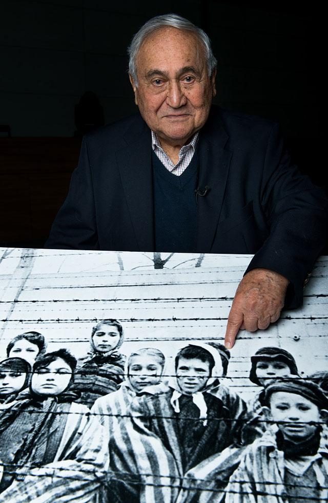 """Габор Хирш (85 лет) - бывший узник концлагеря """"Освенцим"""""""