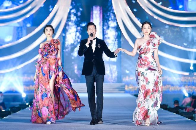 Kỳ Duyên, Đỗ Mỹ Linh khoe chân dài trong đêm thi của 'Hoa hậu Việt Nam' - 8