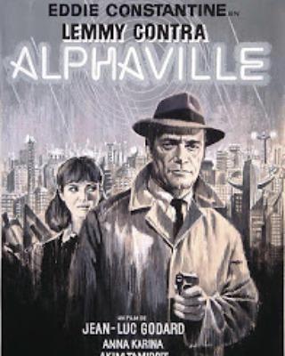 Alphaville. Lemmy contra Alphaville (1965, Jean-Luc Godard)