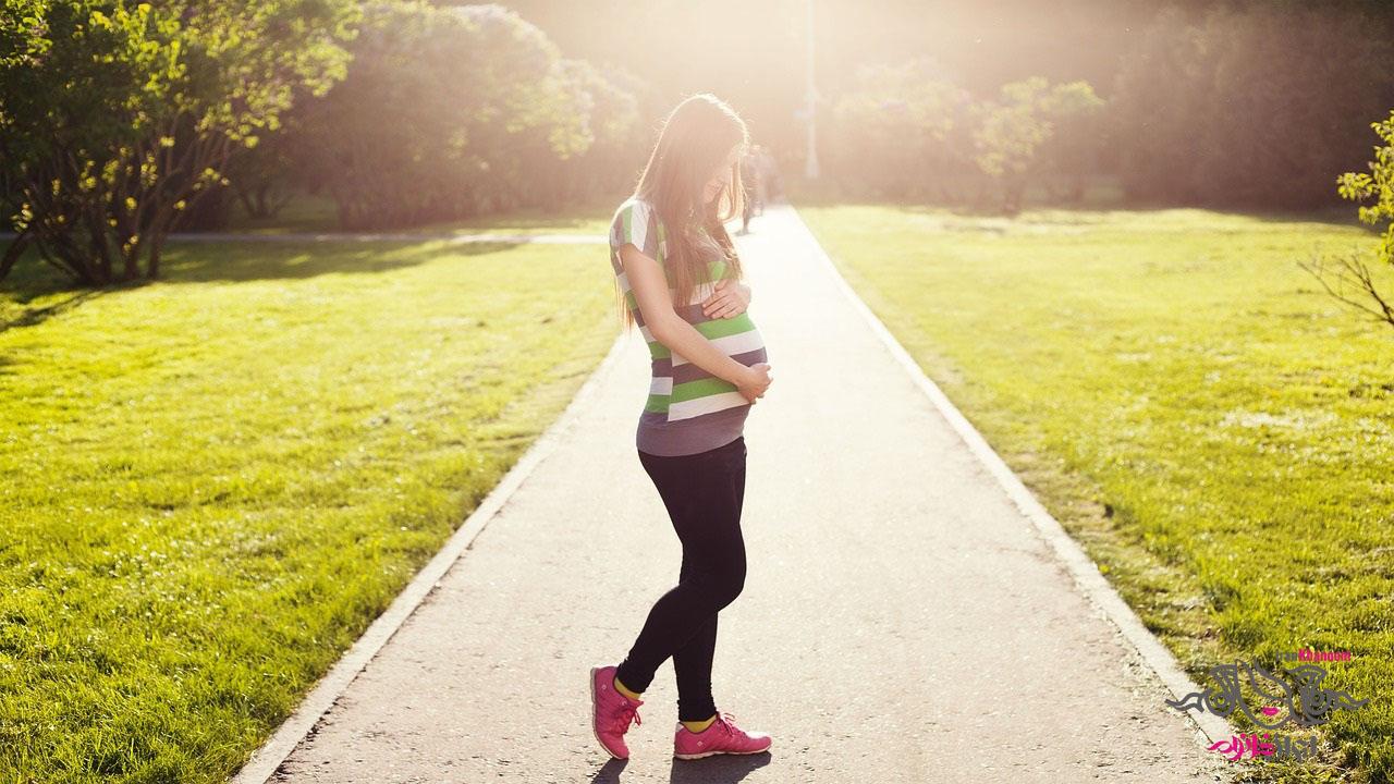شلوار لگ بارداری