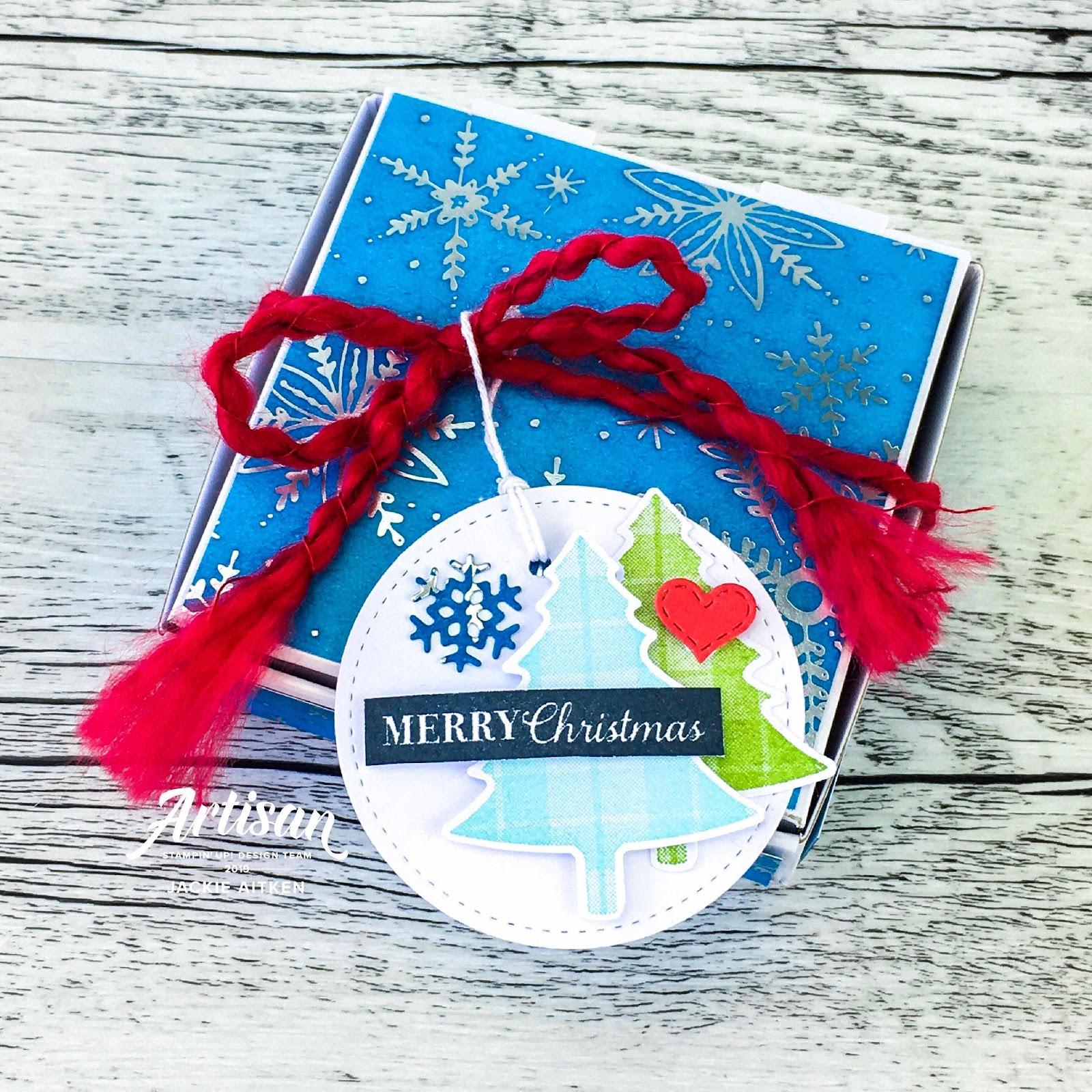 Christmas Card, Holiday Festival, OSAT Blog Hop, Christmas Rose, Holly Jolly Christmas, Christmas Gleaming, Mini Pizza Box