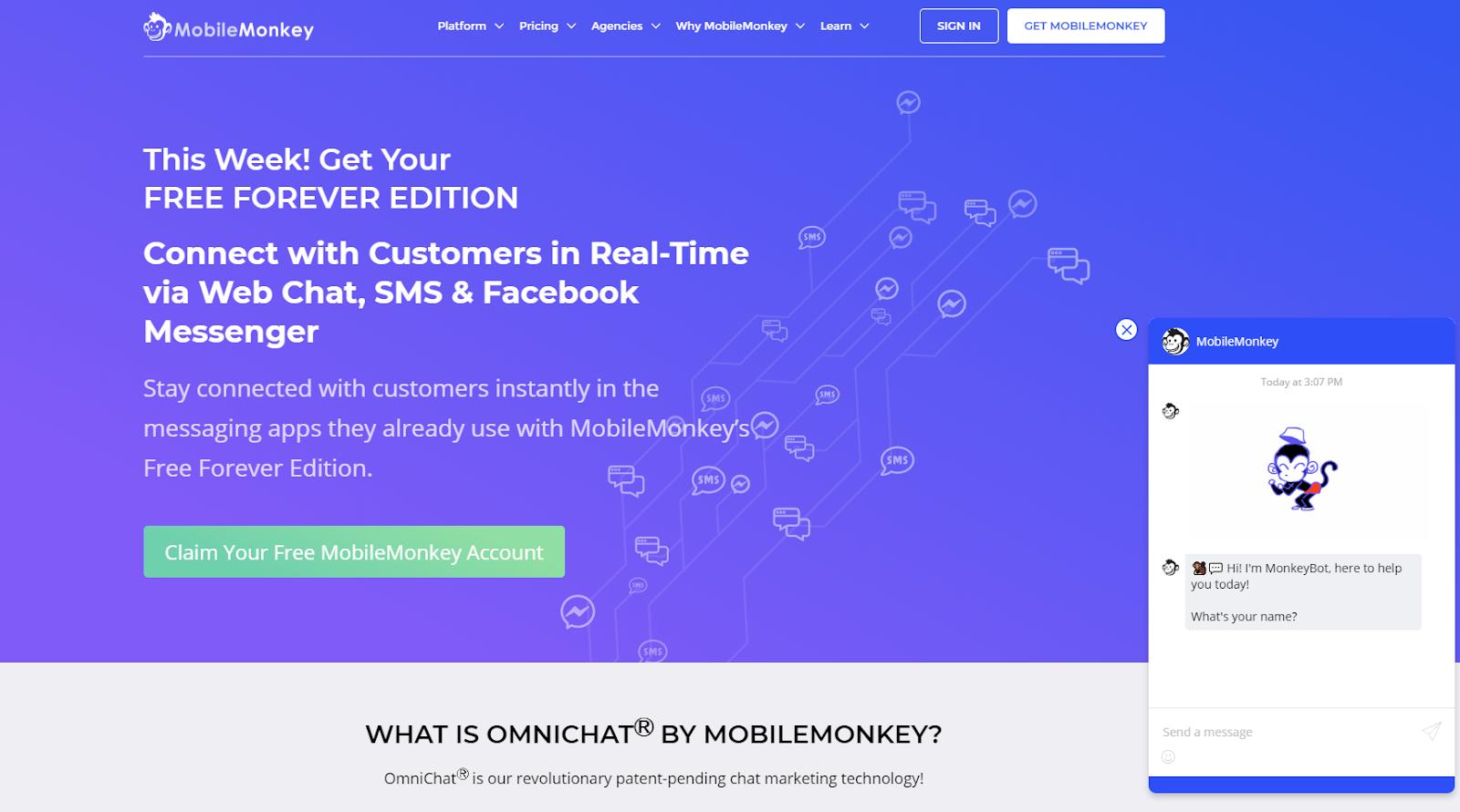 Instagram marketing tools best chatbot for Instagram