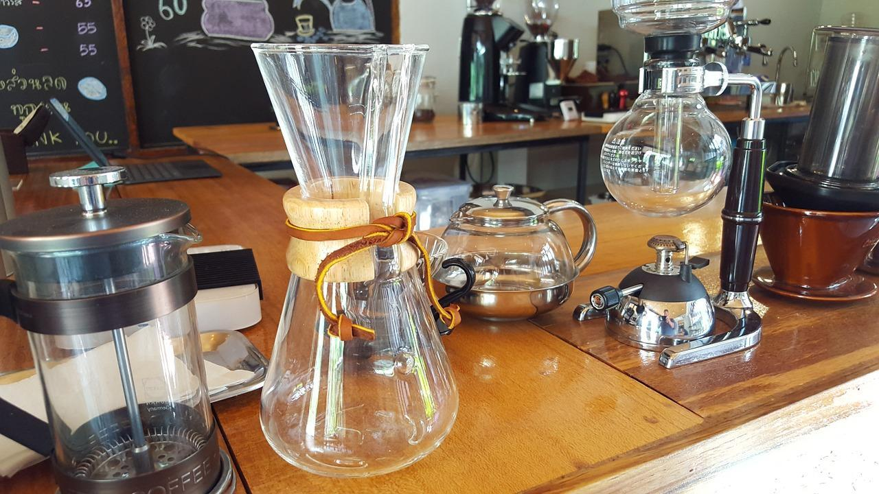 collection of coffee brewers
