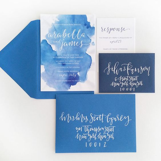 Brides.com: 26 Beach-Inspired Wedding Invitation Suites