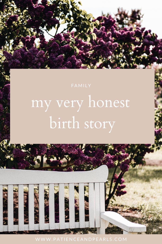 Patience & Pearls - Baby Noah Birth Story - Pinterest