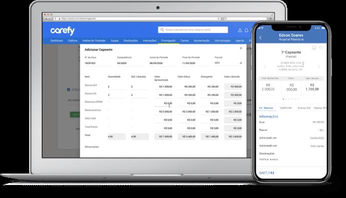 software auditoria de contas médicas